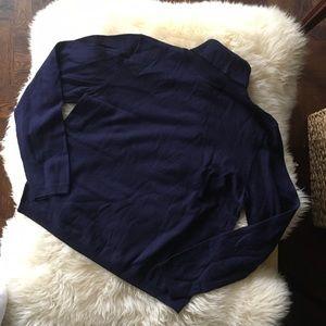 NEW Pendleton Wool Sweater Boxy Turtleneck Sweater